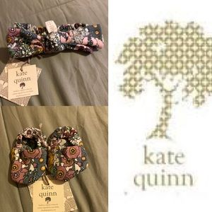 Kate Quinn bootie and headband